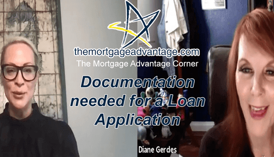TMA Corner- Documentation needed for a Loan Application